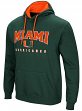 "Miami Hurricanes NCAA ""Playbook"" Pullover Hooded Men's Sweatshirt - Green"