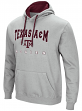"Texas A&M Aggies NCAA ""Playbook"" Pullover Hooded Men's Sweatshirt - Gray"