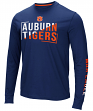 "Auburn Tigers NCAA ""Field Goal"" Men's Dual Blend Long Sleeve T-Shirt"