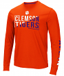 "Clemson Tigers NCAA ""Field Goal"" Men's Dual Blend Long Sleeve T-Shirt"
