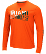 "Miami Hurricanes NCAA ""Field Goal"" Men's Dual Blend Long Sleeve T-Shirt"