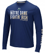 "Notre Dame Fighting Irish NCAA ""Field Goal"" Men's Dual Blend Long Sleeve T-Shirt"