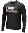 "Purdue Boilermakers NCAA ""Field Goal"" Men's Dual Blend Long Sleeve T-Shirt"