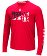 "Wisconsin Badgers NCAA ""Field Goal"" Men's Dual Blend Long Sleeve T-Shirt"