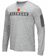 "Clemson Tigers NCAA ""Banked"" Men's Long Sleeve Pocket T-Shirt"
