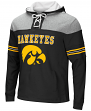 "Iowa Hawkeyes NCAA ""Power Play"" Pullover Hooded Men's Sweatshirt"