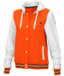"Miami Hurricanes Women's NCAA ""Halfpipe"" Hooded Varsity Jacket"