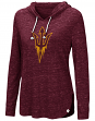 "Arizona State Sun Devils Women's NCAA ""Swizzle"" Long Sleeve Hooded Shirt"
