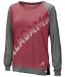 "Alabama Crimson Tide Women's NCAA ""On the Edge"" Long Sleeve Raglan Shirt"