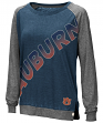 "Auburn Tigers Women's NCAA ""On the Edge"" Long Sleeve Raglan Shirt"