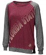 "Florida State Seminoles Women's NCAA ""On the Edge"" Long Sleeve Raglan Shirt"