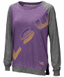 "LSU Tigers Women's NCAA ""On the Edge"" Long Sleeve Raglan Shirt"