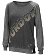 "Purdue Boilermakers Women's NCAA ""On the Edge"" Long Sleeve Raglan Shirt"