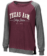 "Texas A&M Aggies Women's NCAA ""On the Edge"" Long Sleeve Raglan Shirt"