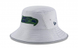 Seattle Seahawks New Era NFL 2018 Training Camp Sideline Bucket Hat - Gray
