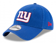 New York Giants New Era 9Twenty NFL Core Classic Adjustable Hat - Blue