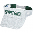 "Michigan State Spartans NCAA Top of the World ""Ballholla"" Mesh Back Visor"