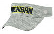 "Michigan Wolverines NCAA Top of the World ""Ballholla"" Mesh Back Visor"