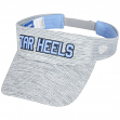 "North Carolina Tarheels NCAA Top of the World ""Ballholla"" Mesh Back Visor"