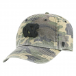 "North Carolina Tarheels NCAA Top of the World ""Heroes"" Adjustable Camo Hat"