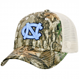 "North Carolina Tarheels Top of the World ""Sentry"" Adjustable Camo Meshback Hat"
