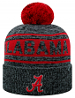 "Alabama Crimson Tide NCAA Top of the World ""Sock It 2 Me"" Cuffed Knit Hat"