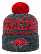 "Arkansas Razorbacks NCAA Top of the World ""Sock It 2 Me"" Cuffed Knit Hat"