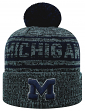 """Michigan Wolverines NCAA Top of the World """"Sock It 2 Me"""" Cuffed Knit Hat"""