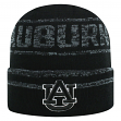 "Auburn Tigers NCAA Top of the World ""Effect"" Cuffed Black Knit Hat"