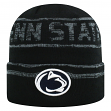 """Penn State Nittany Lions NCAA Top of the World """"Effect"""" Cuffed Black Knit Hat"""