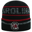 """South Carolina Gamecocks NCAA Top of the World """"Effect"""" Cuffed Black Knit Hat"""