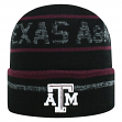 "Texas A&M Aggies NCAA Top of the World ""Effect"" Cuffed Black Knit Hat"