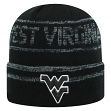 "West Virginia Mountaineers NCAA Top of the World ""Effect"" Cuffed Black Knit Hat"