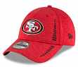 """San Francisco 49ers New Era 9Forty NFL """"Shadow Speed"""" Performance Adjustable Hat"""