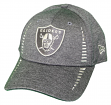 "Oakland Raiders New Era 9Forty NFL ""Graphite Shadow Speed"" Adjustable Hat"