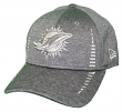 """Miami Dolphins New Era 9Forty NFL """"Graphite Shadow Speed"""" Adjustable Hat"""