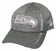 """Seattle Seahawks New Era 9Forty NFL """"Graphite Shadow Speed"""" Adjustable Hat"""