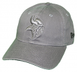 "Minnesota Vikings New Era NFL 9Twenty ""Classic Tonal"" Adjustable Graphite Hat"