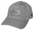 "San Francisco 49ers New Era NFL 9Twenty ""Classic Tonal"" Adjustable Graphite Hat"