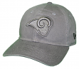 "Los Angeles Rams New Era NFL 9Twenty ""Classic Tonal"" Adjustable Graphite Hat"