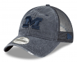 "Michigan Wolverines New Era NCAA 9Twenty ""Tonal Washed"" Adjustable Meshback Hat"