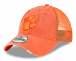 "Clemson Tigers New Era NCAA 9Twenty ""Tonal Washed"" Adjustable Meshback Hat"
