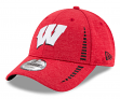 "Wisconsin Badgers New Era 9Forty NCAA ""Shadow Speed"" Performance Adjustable Hat"