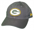 "Green Bay Packers New Era NFL 9Twenty ""Core Classic Graphite"" Adjustable Hat"