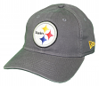 "Pittsburgh Steelers New Era NFL 9Twenty ""Core Classic Graphite"" Adjustable Hat"