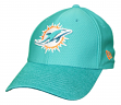 "Miami Dolphins New Era NFL 39THIRTY ""Popped Shadow"" Flex Fit Hat"