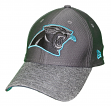 "Carolina Panthers New Era NFL 39THIRTY ""Popped Shadow"" Flex Fit Hat - Graphite"