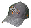 "Denver Broncos New Era NFL 39THIRTY ""Popped Shadow"" Flex Fit Hat - Graphite"