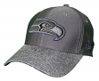 "Seattle Seahawks New Era NFL 39THIRTY ""Popped Shadow"" Flex Fit Hat - Graphite"