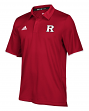 "Rutgers Scarlet Knights Adidas NCAA 2018 Sideline ""Team Iconic"" Polo Shirt - Red"